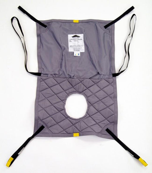 Hoyer Professional Long Seat Commode Loop Style Sling - Polyester or Mesh