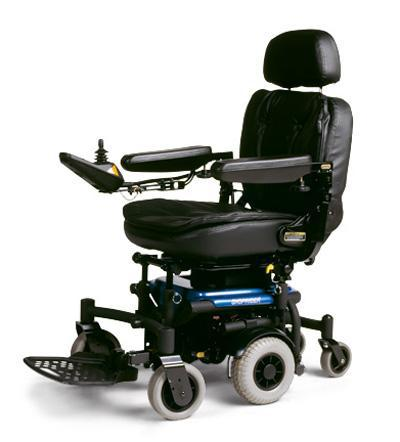 Shoprider Pirouette Power Chair blue