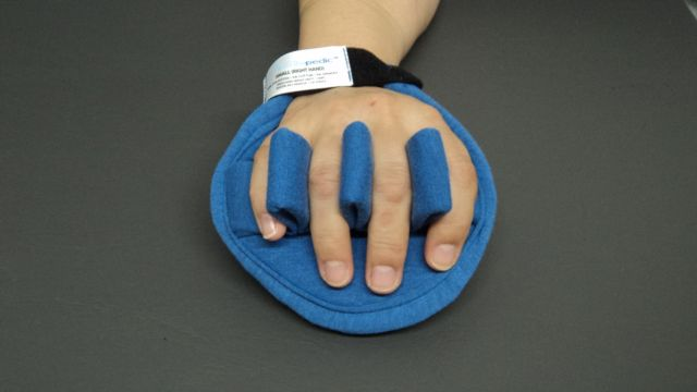 Ventopedic Premium Palm Protector With Finger Separator