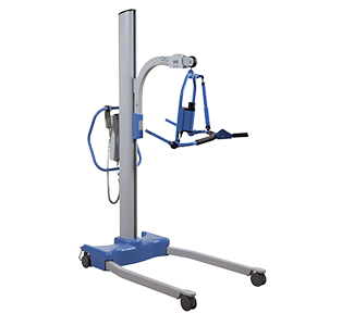 Hoyer Stature Professional Patient Lift - 4-Point Cradle with Scale, Electric Base 500lb Capacity