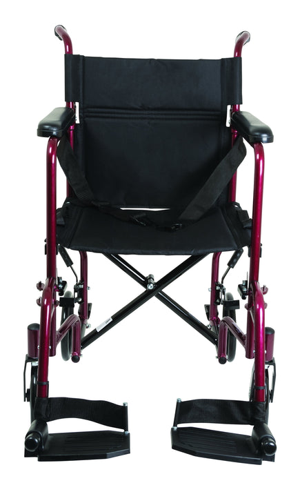 ProBasics Aluminum Transport Chair with Footrests