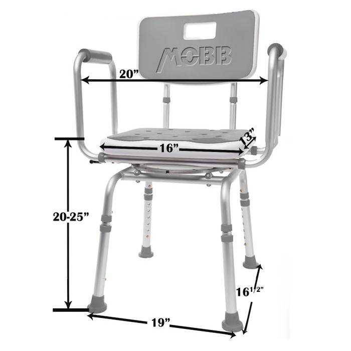 Mobb Swivel Shower Chair Healthcare Solutions