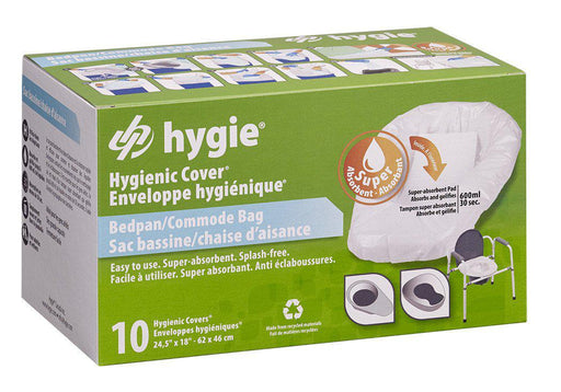 Hygie Bedpan/Commode Covers