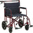 "22"" Bariatric Aluminum Transport Chair"
