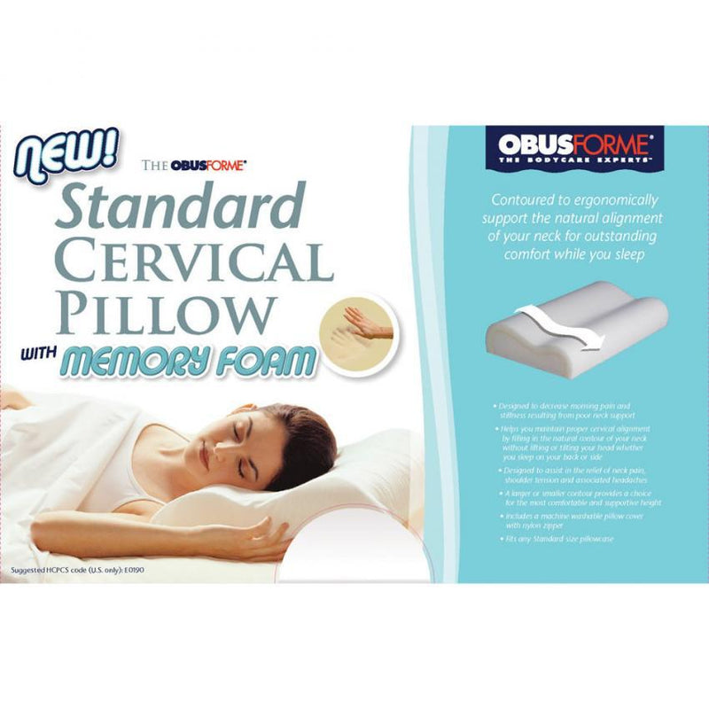 Standard Cervical Pillow with Memory Foam