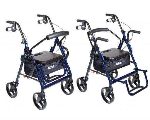 Duet Transport Wheelchair Rollator Walker  795b