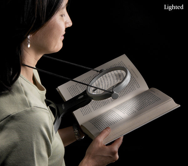 Over The Neck Lighted Magnifier