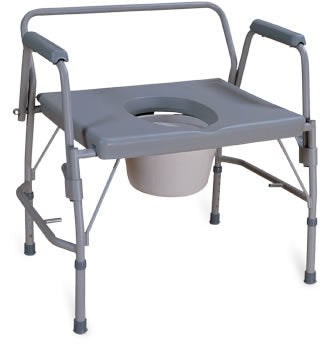 AMG Bariatric Drop Arm Commode