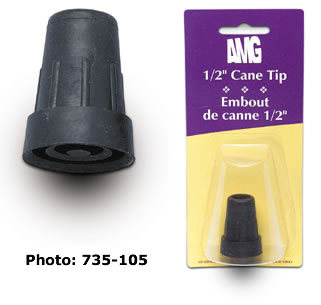 Airgo Cane Tip with Metal Insert