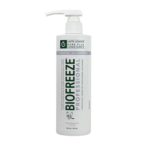 Biofreeze Professional Pain Relief Gel, Colourless Pump 32oz