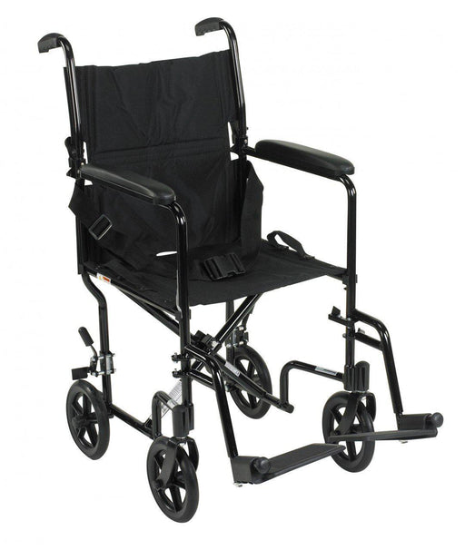 Lightweight Transport Wheelchair  atc19-bk