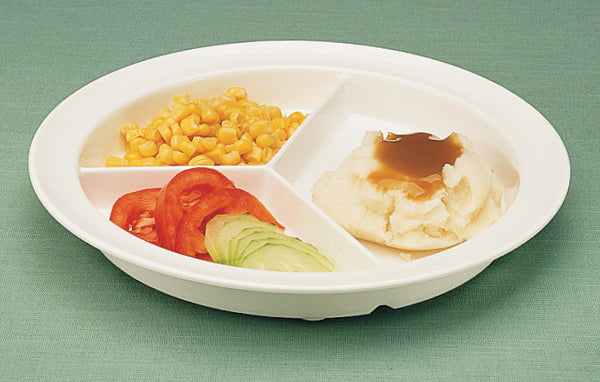 GripWare Partitioned Scoop Dish