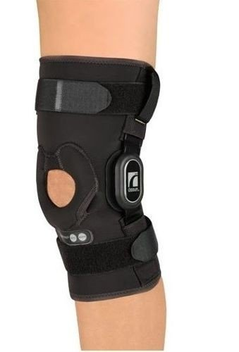"Ossur Rebound ROM Hinged Knee Brace Sleeve - 12"" Length"