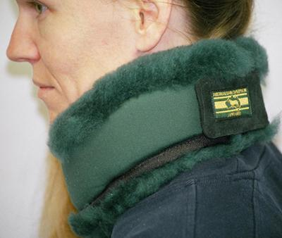Australian Sheepskin Apparel Neck Ring 3""