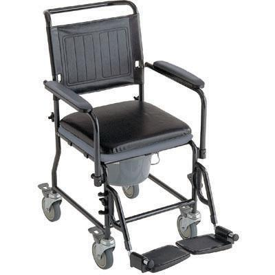 Invacare Glide About Commode With Four Locking Casters