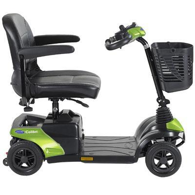 Invacare Colibri 4-Wheel Mobility Scooter green