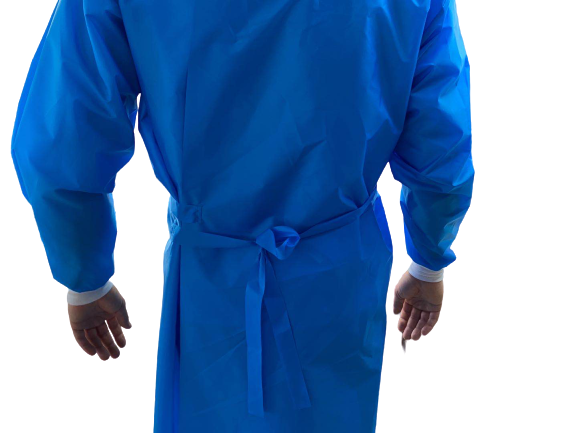 Isolation Disposable Gown, Level 3, AAMI Rated