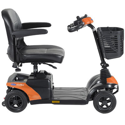 Invacare Colibri 4-Wheel Mobility Scooter orange
