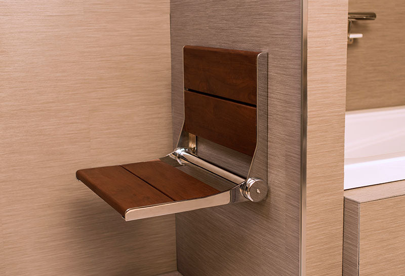 Invisia SerenaSeat Wall-Mounted Shower Seat — Healthcare Solutions