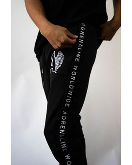 Adrenaline Custom White Embroidery Sweatpants