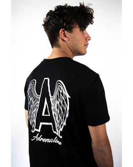 Adrenaline Original Series  Black T-Shirt