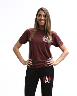 Adrenaline Original Series Maroon T-Shirt