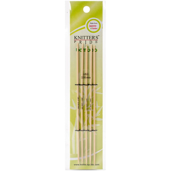 Bamboo Double Pointed Needles - Knitters Pride
