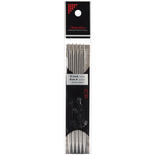 Double Point Stainless Steel Knitting Needles - Chiao Goo