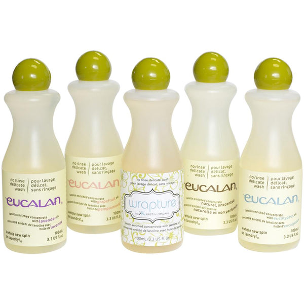 Eucalan Fine Fabric Wash 3.3 oz Gift Pack
