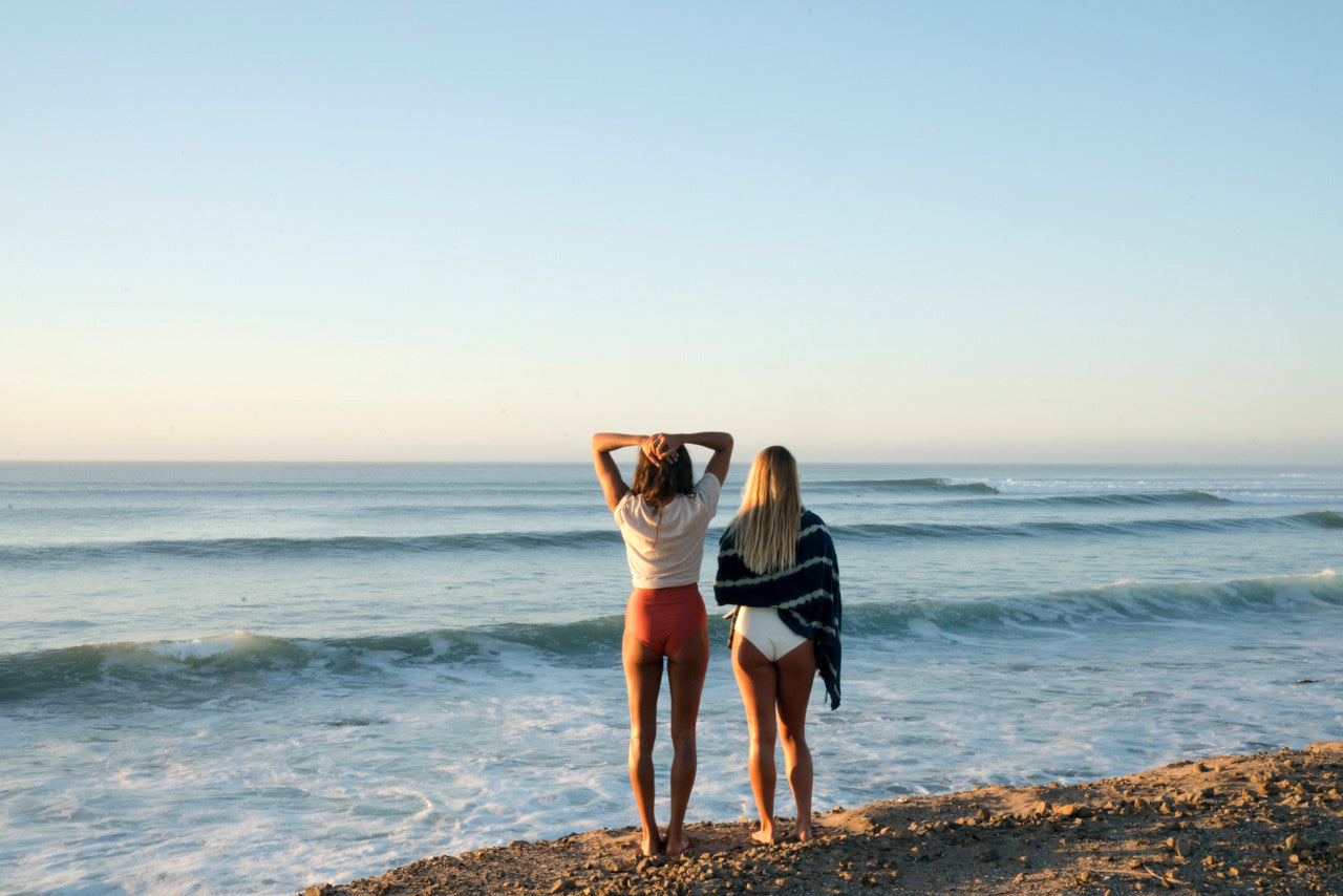 surfer model swimwear sustainable surfwear september line