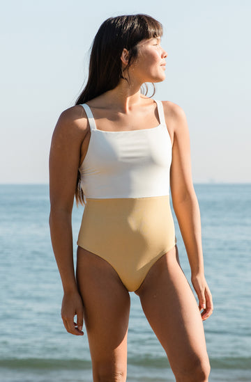 Paris One Piece Ivory/Honey