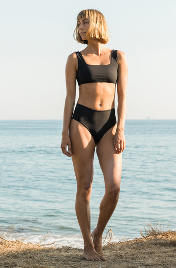 Kennedy Bottom Black Eco Rib