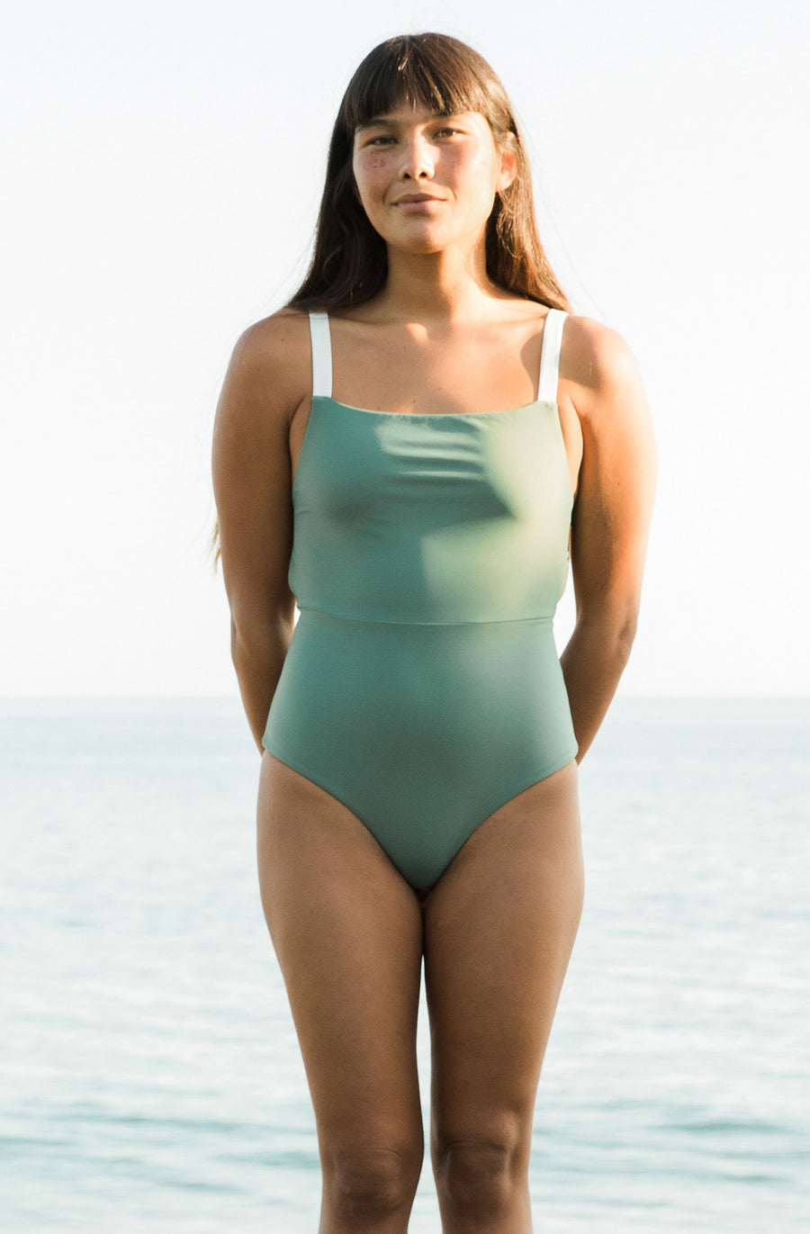 Paris One Piece Army Green