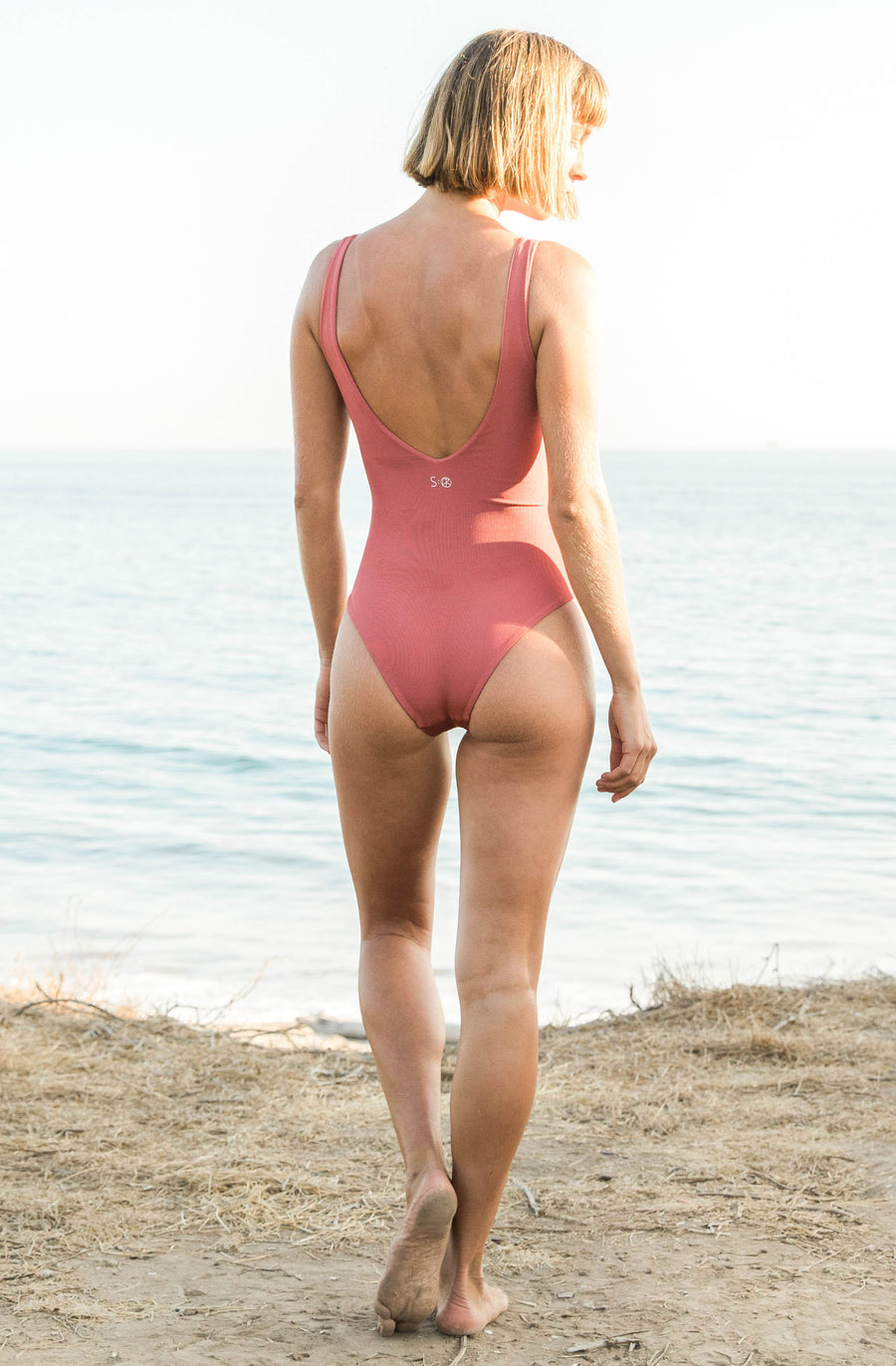 Herman One Piece Rose Eco Rib