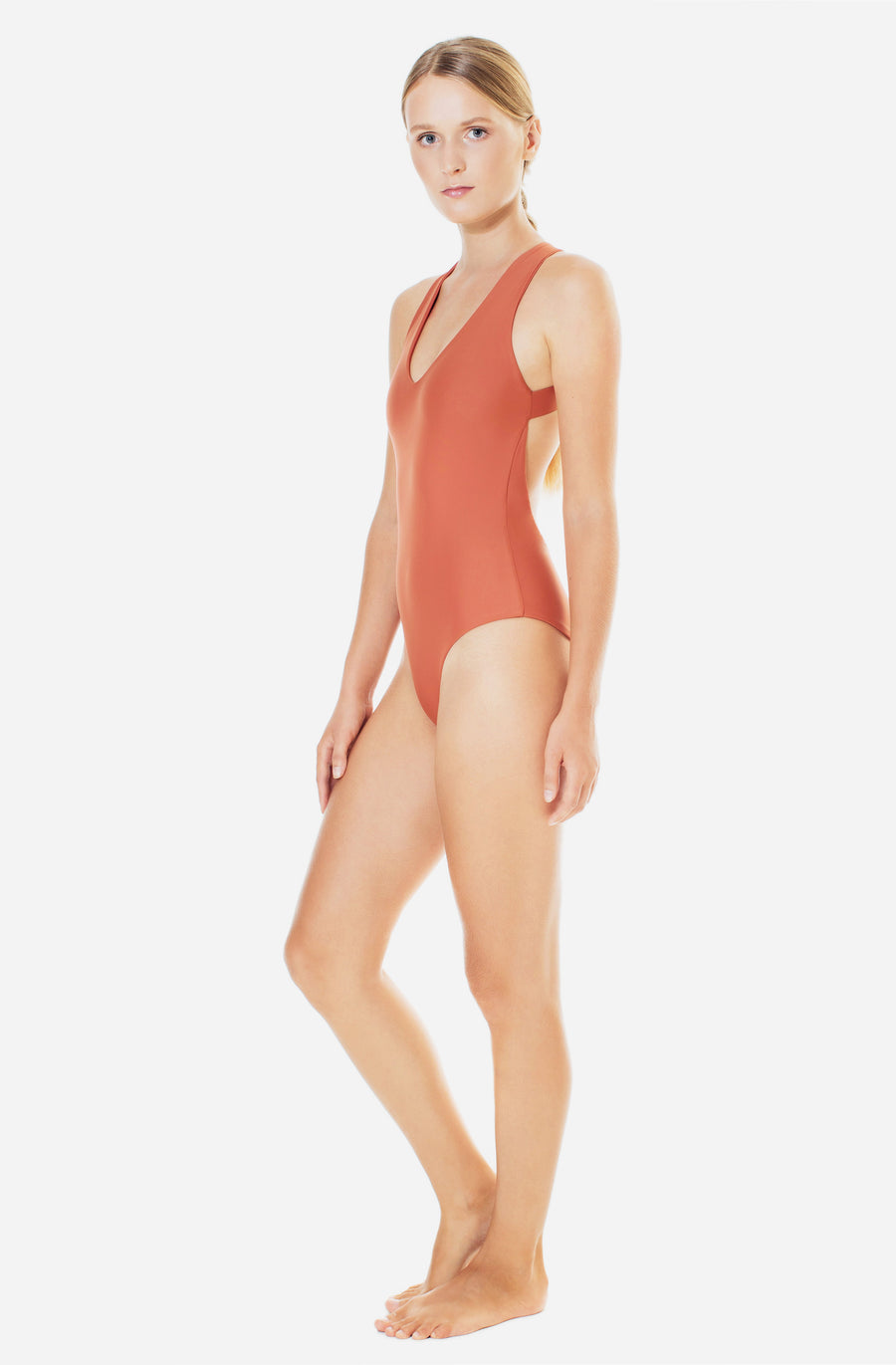 Elena One Piece Burnt Sienna