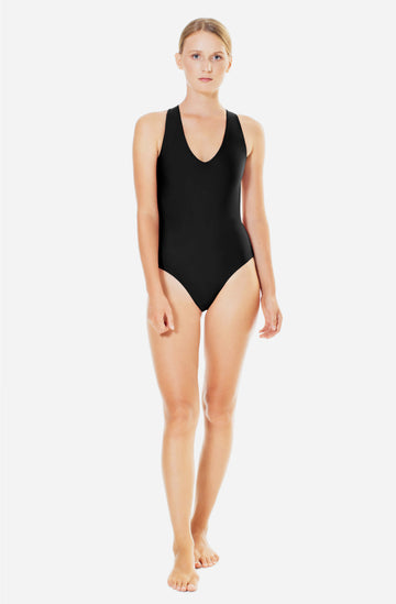 Elena One Piece Black