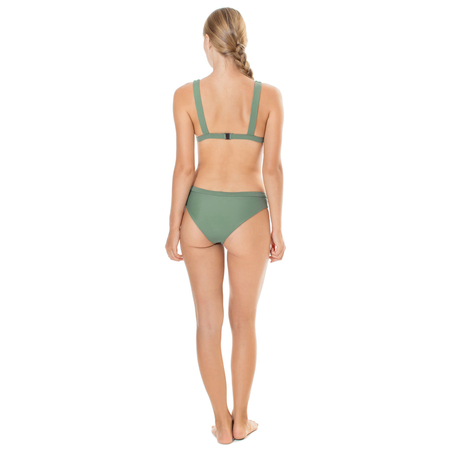 Honolua Top Army Green - SEPTEMBER the Line