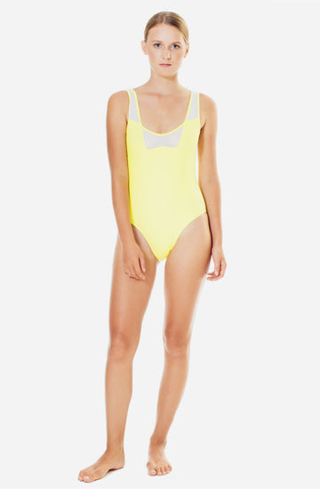 James One Piece Sunflower Yellow