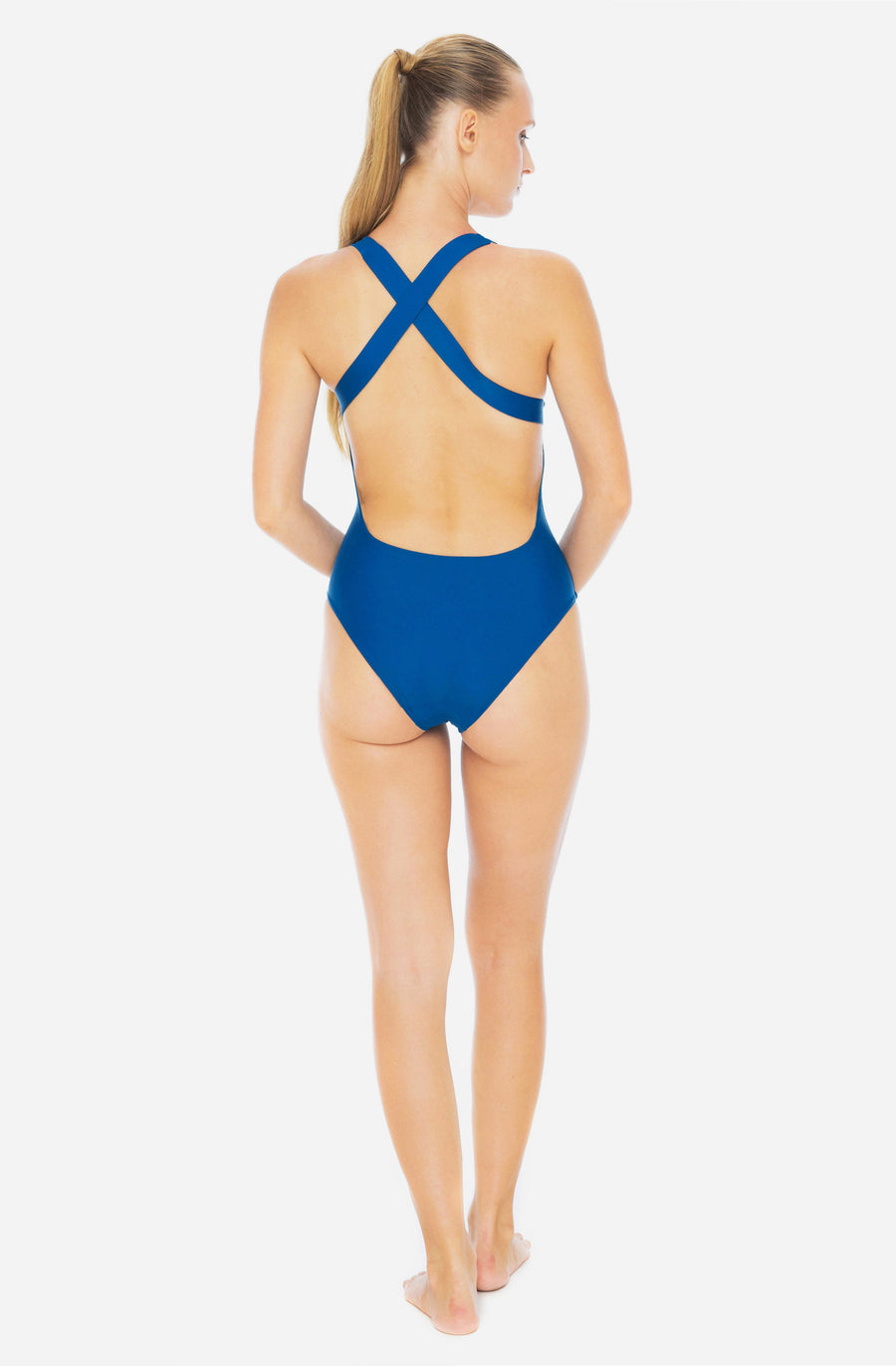 Elena One Piece Lake Blue