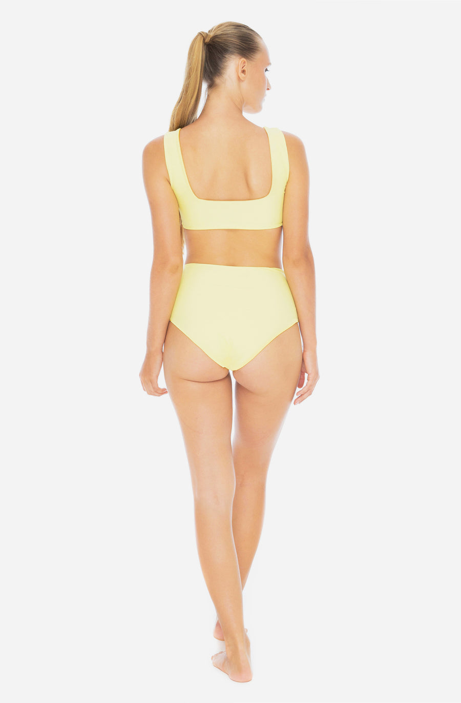 Kassia Reversible Bottom Saffron/Sunflower Yellow