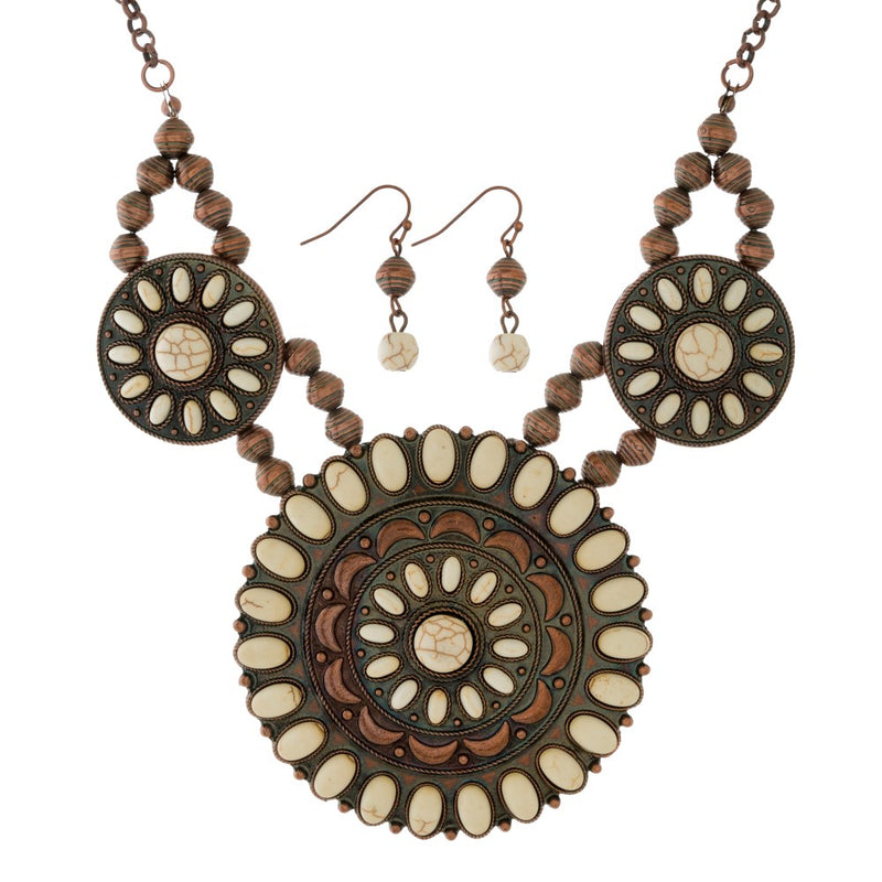 Copper Necklace Set - Samsara
