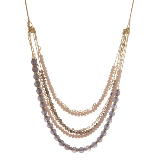 Beaded Layer Necklace - Samsara