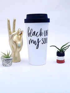 Black Like My Soul Coffee Travel Mug - Samsara