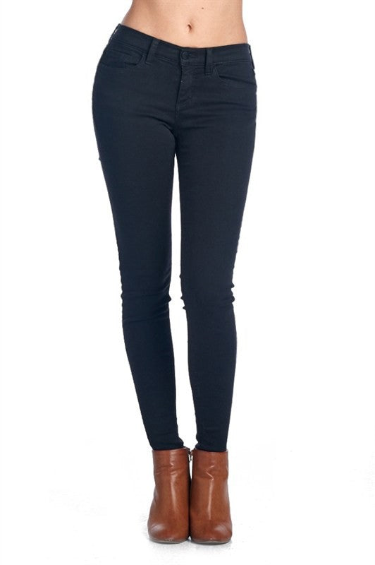 Sneak Peek Black Skinny Jeans - Samsara