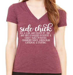 Side Chick Graphic T