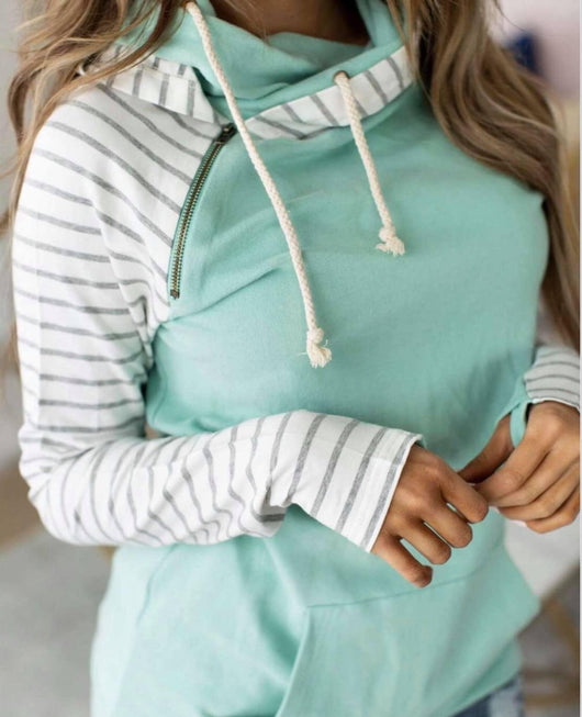 Mint 2 Be Double Hoodie