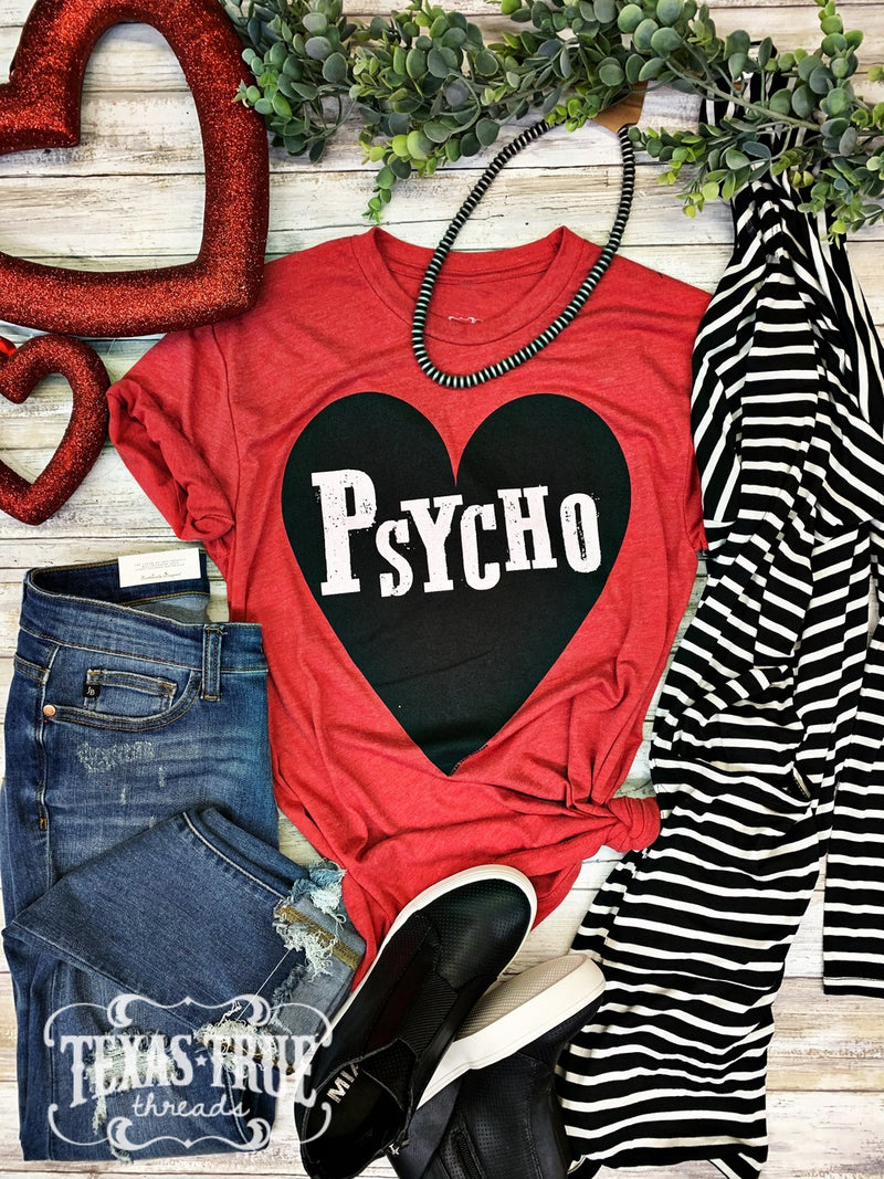Psycho Graphic T- Red