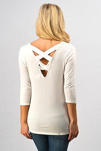 Criss Cross Back Top - Samsara