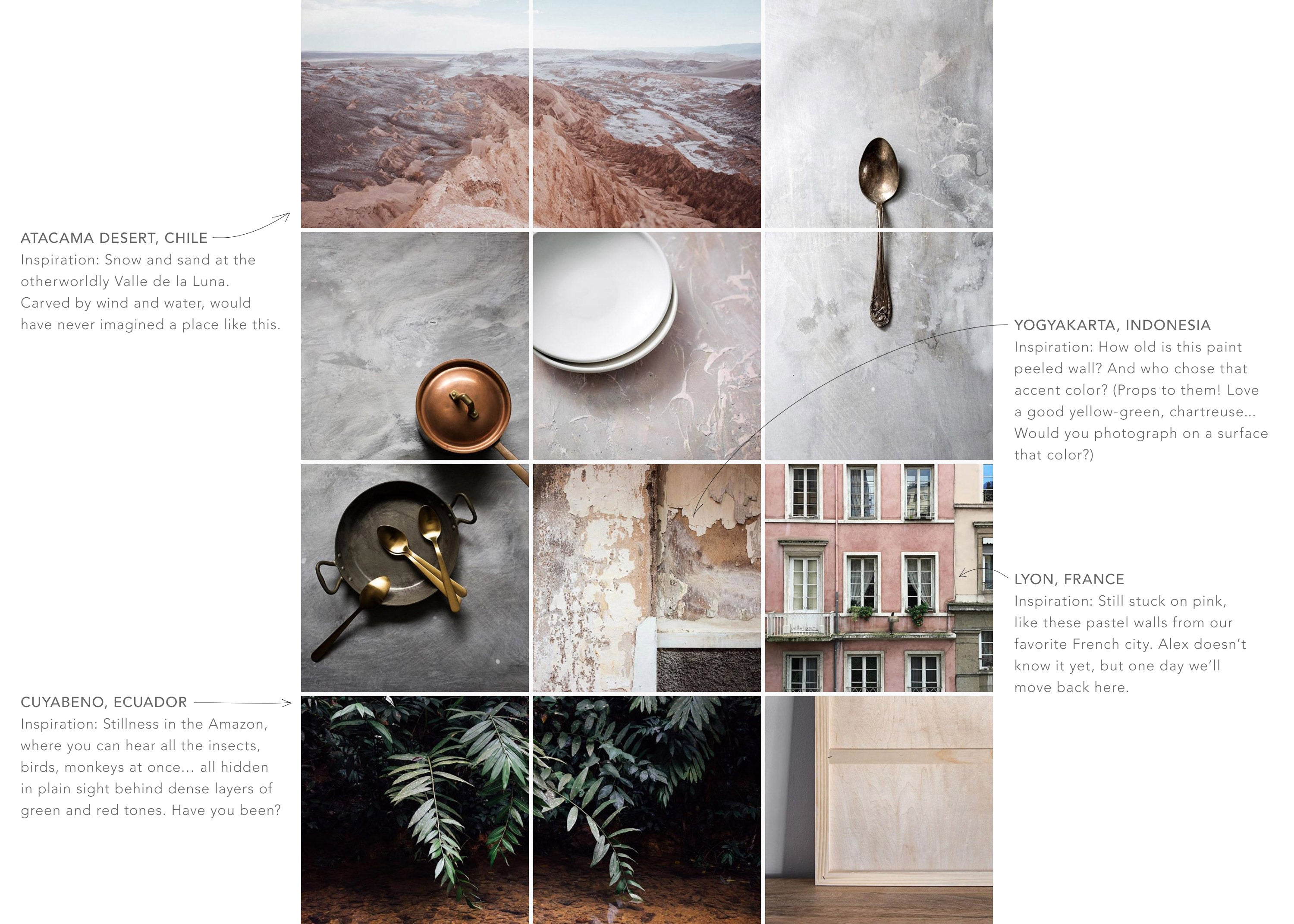 Photo Surfaces, Inspiration, Travels, Instagram