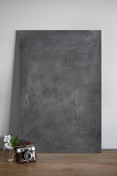 RESERVED FOR PATTY - Dark Gray Wash 05 - Painted Photo Surface